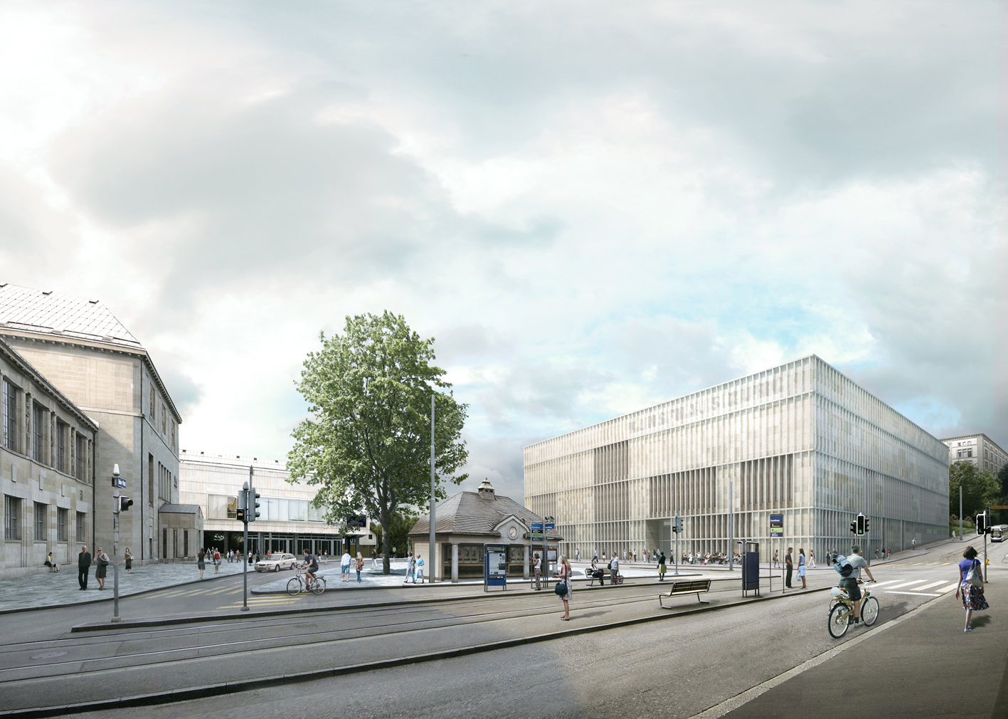 David chipperfield architects kunsthaus zurich for Chipperfield arquitecto