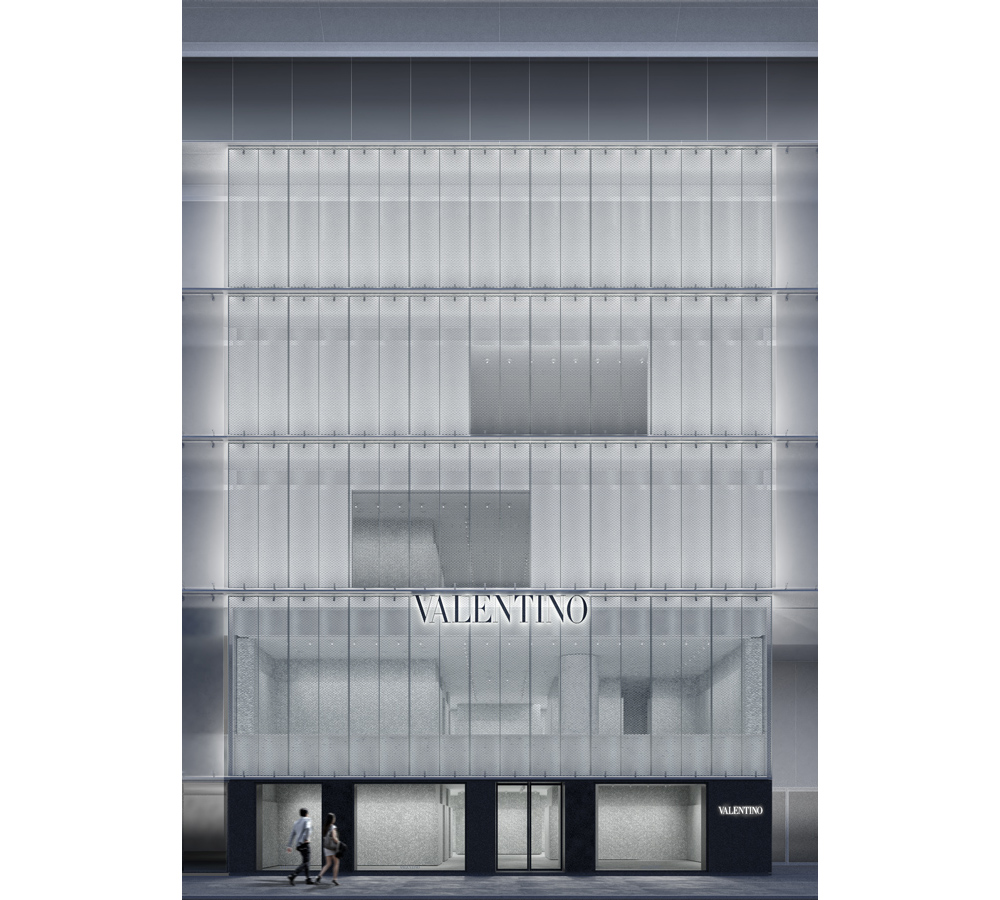 379235eb456 The new Valentino flagship store, located on Chuo-dori, Ginza's main  shopping avenue opened last Thursday. It forms part of the recently  completed Ginza Six ...