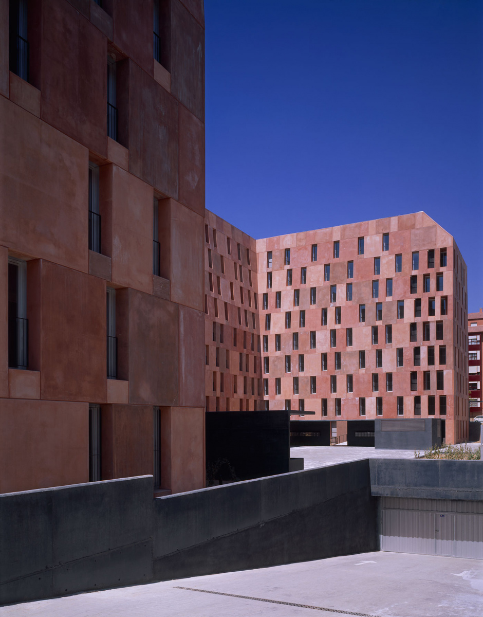 David Chipperfield Architects Housing Villaverde