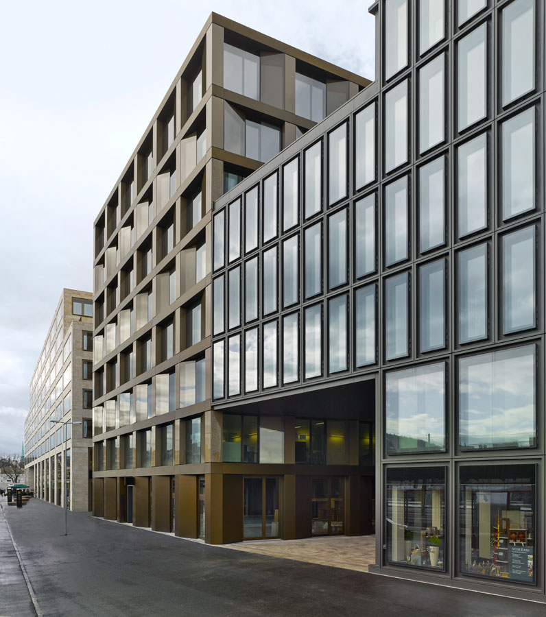 David chipperfield architects office building europaallee for Office building architecture