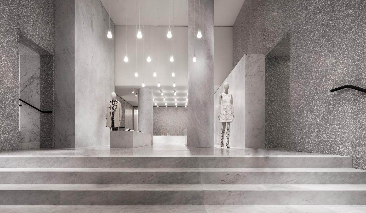 david chipperfield architects valentino flagship store. Black Bedroom Furniture Sets. Home Design Ideas