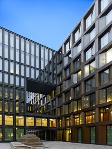 office building architecture. Office Building Europaallee Architecture