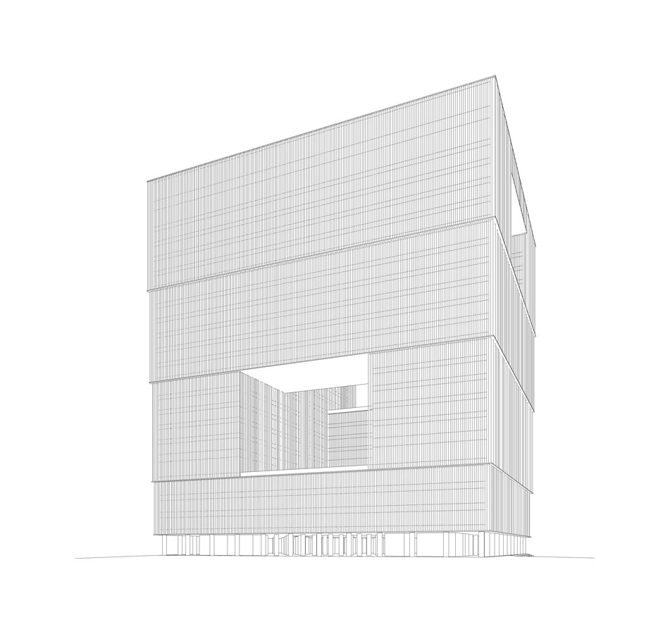 Drawing Line Qt : David chipperfield architects amorepacific headquarters