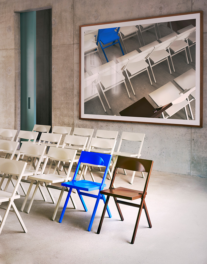 David Chipperfield Architects Piana Folding Chair